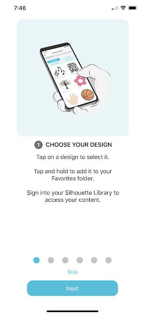 silhouette app, cameo 4 pro, silhouette mobile, Silhouette Studio Mobile, Portrait 2