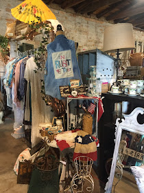 GypsyFarmGirl and Rooster Tails booth at the Mineola Antique Fair