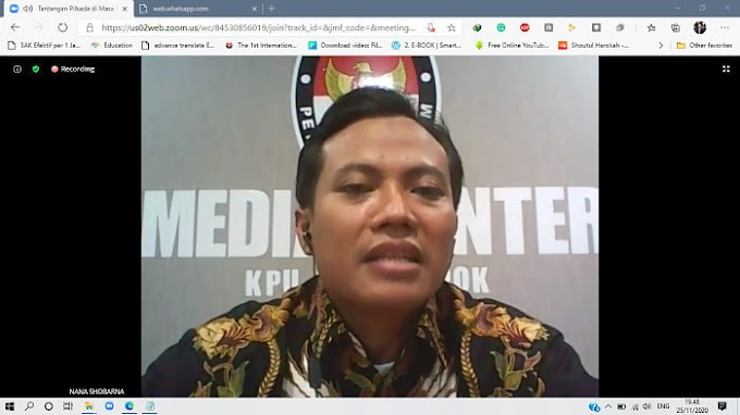 KPU Depok Targetkan Partisipasi Pemilih Capai 77,05 Persen