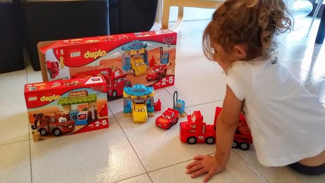 Cars 3 il film ed i nuovi personaggi Lego duplo