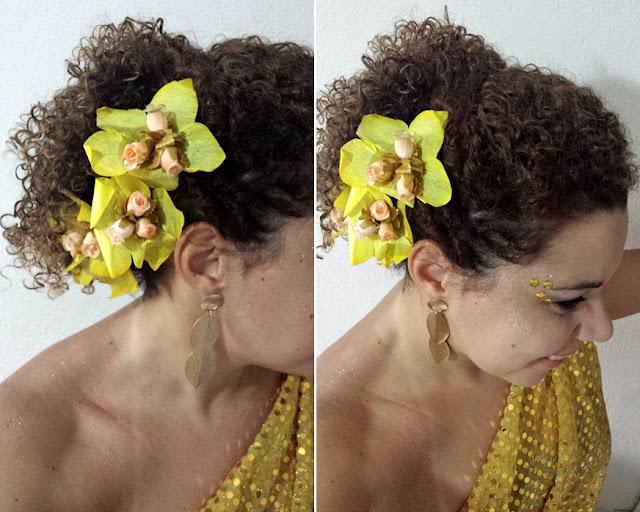 penteado carnaval