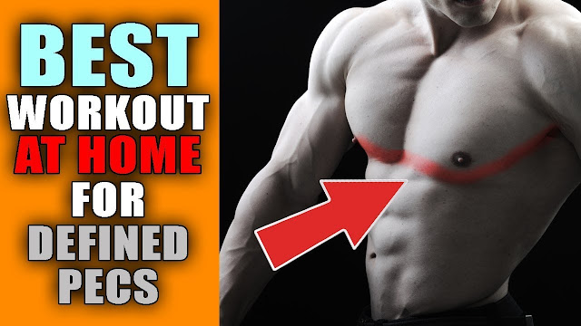 Chest workout at home with Push-ups