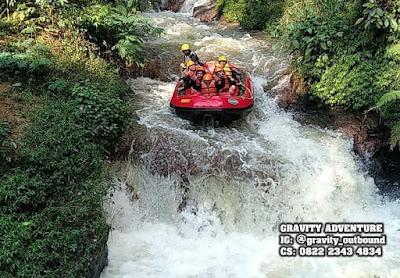rafting sungai palayangan pangalengan