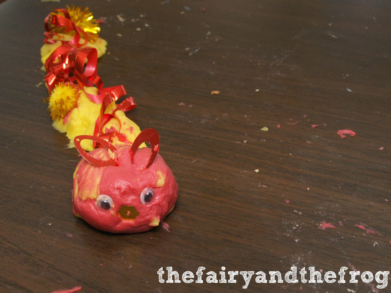 dragon playdough