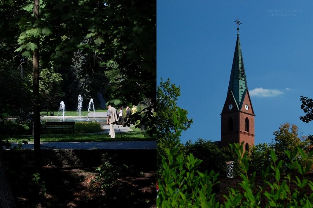 Wieża kościoła ewangelicko-augsburskiego