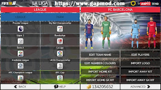 Download FTS Mod FIFA 18 by F19 Team