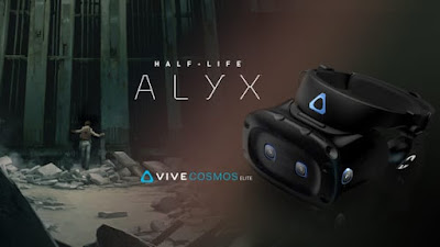 HTC launches Vive Cosmos Elite and provides Half-Life: Alyx for free