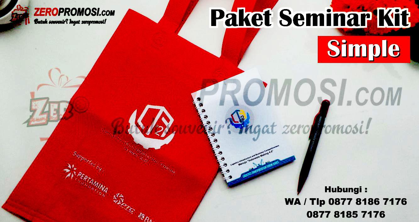 Produsen Paket Seminar Kit Custom, Paket Seminar Kit / Souvenir Kit Custom Simple Murah