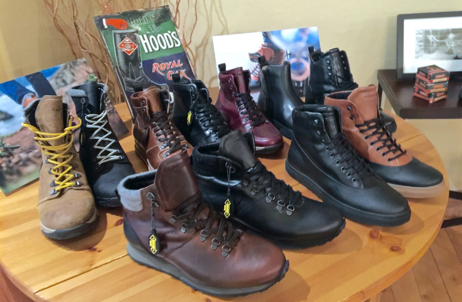 12c491e7603f43 Hood Rubber Company - Men s Shoes With Trail to Urban Style