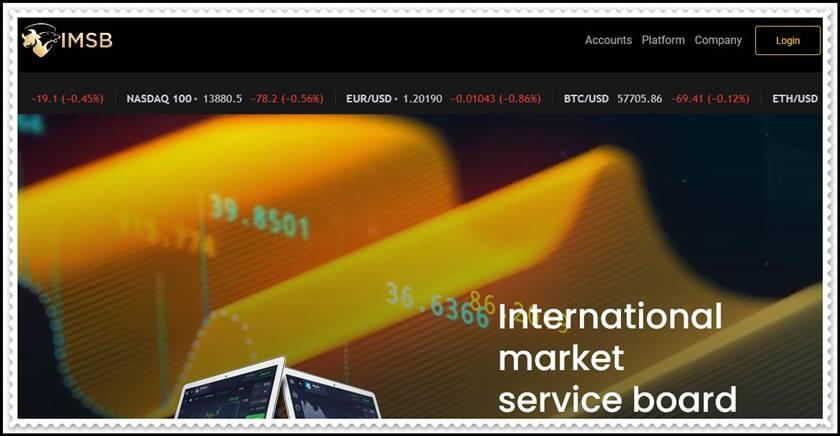 Мошеннический сайт im-sb.com – Отзывы, развод! Компания International Market Service Board мошенники