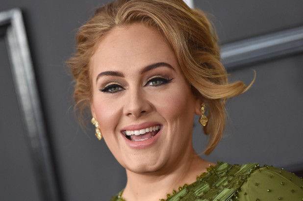 Adele spotted kissing mystery man who looks like her ex