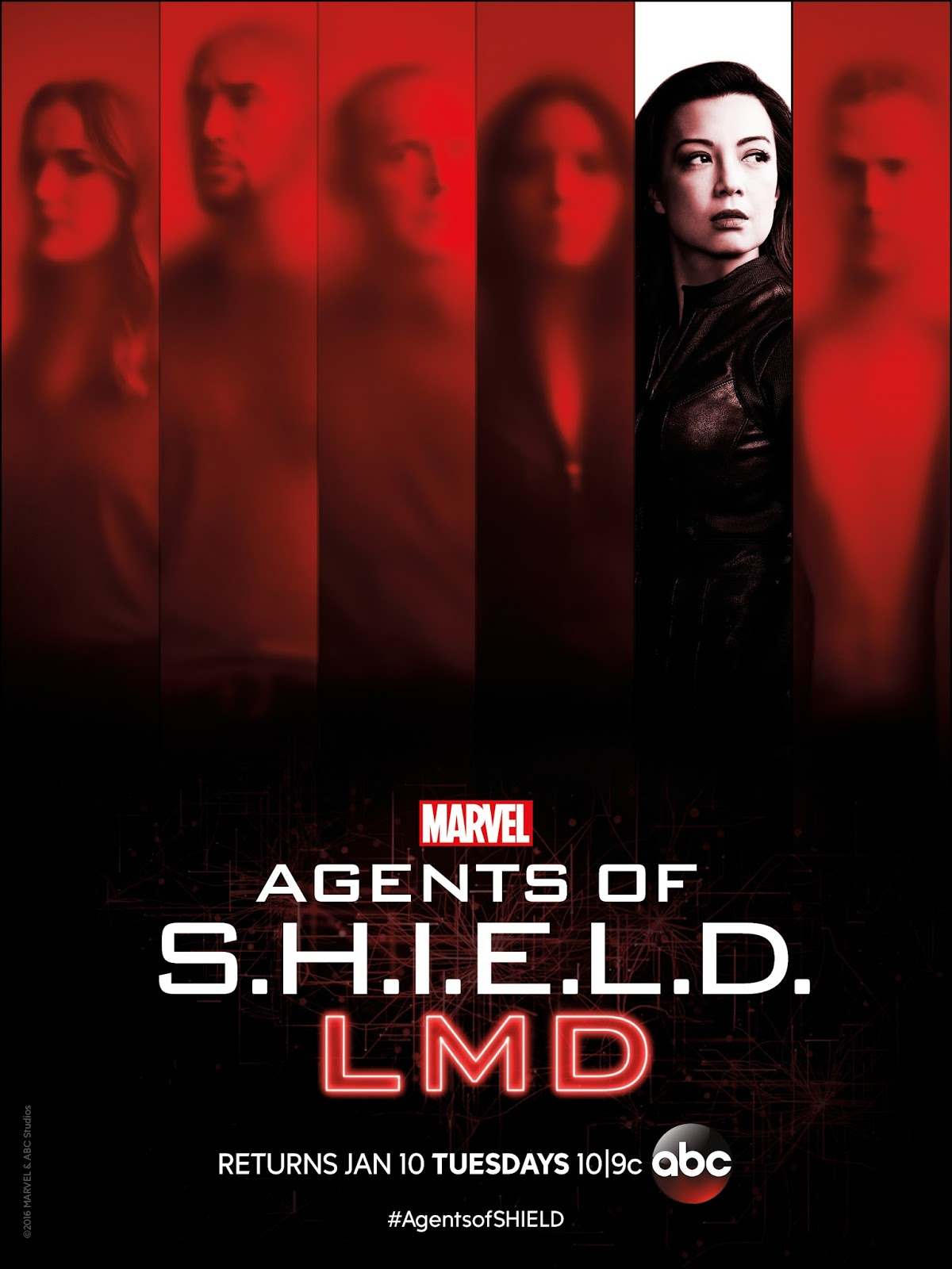 Agents of SHIELD ABC Marvel