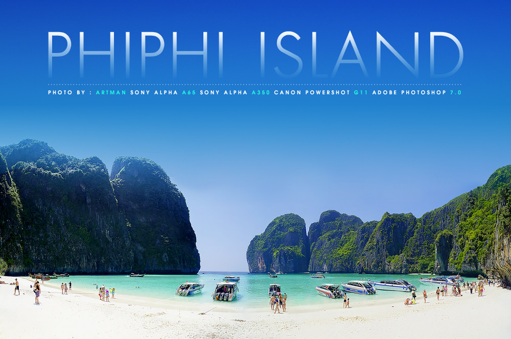 Phi Island At Thailand