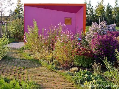 Farbe im Garten, Gartengestaltung mit Farbe