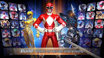 Power Rangers Legacy Wars MOD APK v1.1.0 Update Terbaru 2017