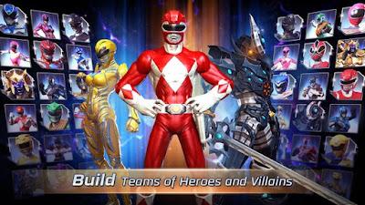 Power Rangers Legacy Wars MOD APK v1.1.0 Update Terbaru 2017