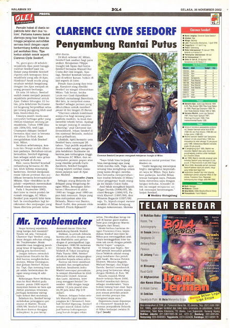 PROFIL CLARENCE LLYDE SEEDORF