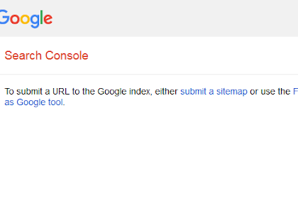 Pengganti Google Submit URL Yang Hilang