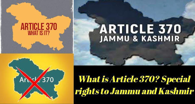 What is Article 370? Special rights to Jammu and Kashmir