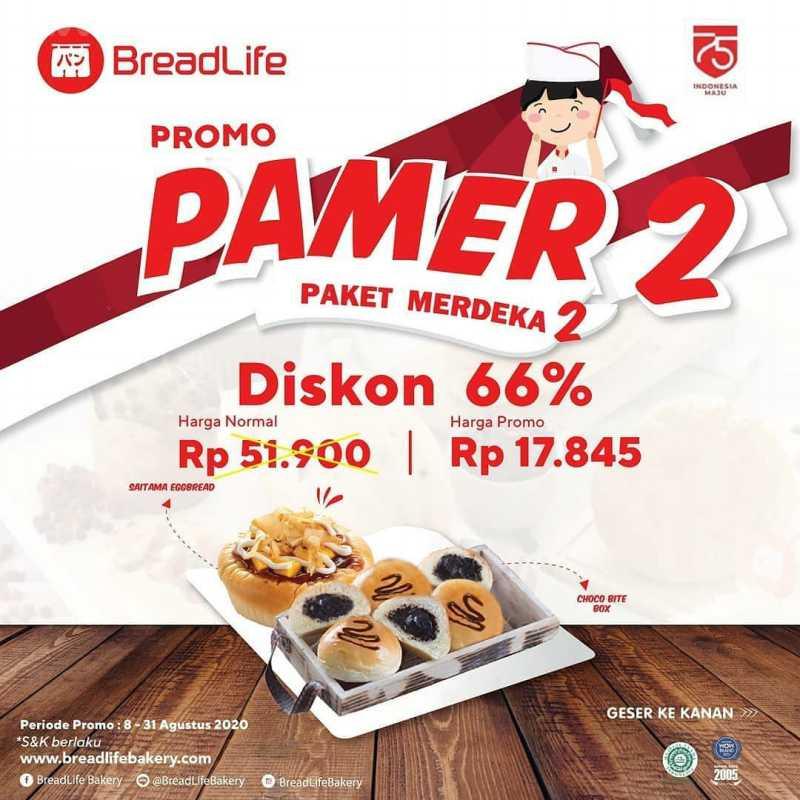 Promo Breadlife Gratis Roti  Periode 8 - 31 Agustus 2020 2