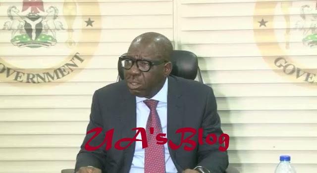 Prevail on Oshiomhole to stop acts of impunity, Obaseki tells Buhari