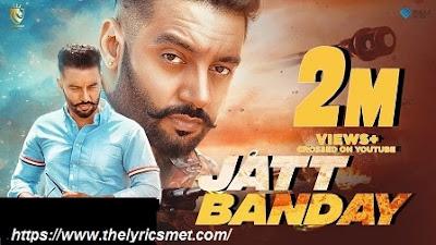 Jatt Banday Song Lyrics | Sippy Gill | Laddi Gill | 10 Mint Records | New Punjabi Song 2020
