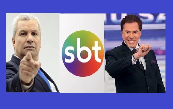 """Sikêra Jr revela áudio de Silvio Santos o chamando para o SBT: """"Eu pago sua multa"""""""