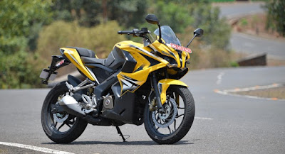 Bajaj Pulsar RS 200 sport bike