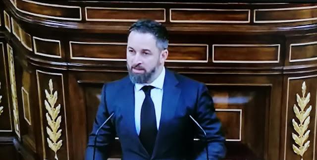 """Abascal no descarta una moción de censura contra este """"Gobierno ruinoso que está abusando del poder"""""""