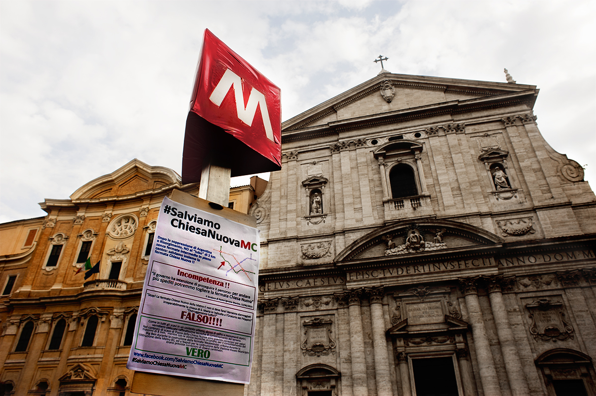 Roma Fa Schifo La Metro C Senza La Fermata Chiesa Nuova è Una Presa