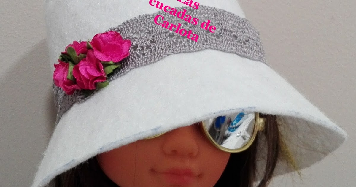 Fantástico Tejer El Sombrero Gacho Patrón Colección de Imágenes ...