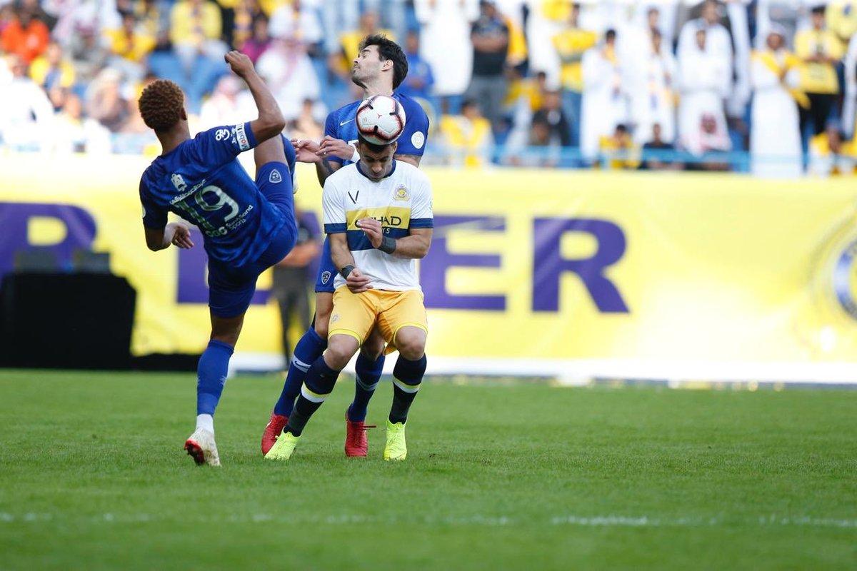 """نتيجة مباراة الهلال والنصر """"ديربي الرياض"""" اليوم 27-10 الدوري السعودي 2019"""