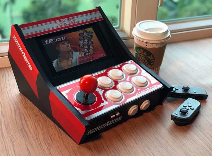 Con Switch Fighter trasformi la tua Nintendo Switch in un videogame classico