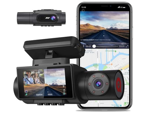 AQP M2 4K Dual Dash cam Car Camera