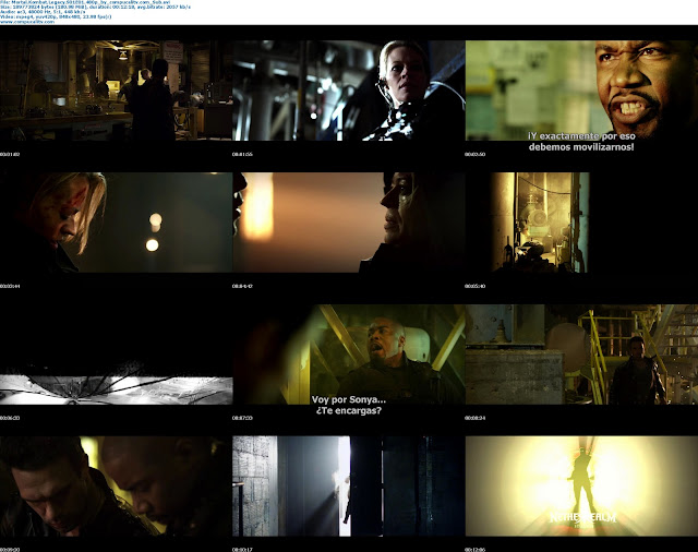 Mortal Kombat Legacy BRRip 480p HD Latino