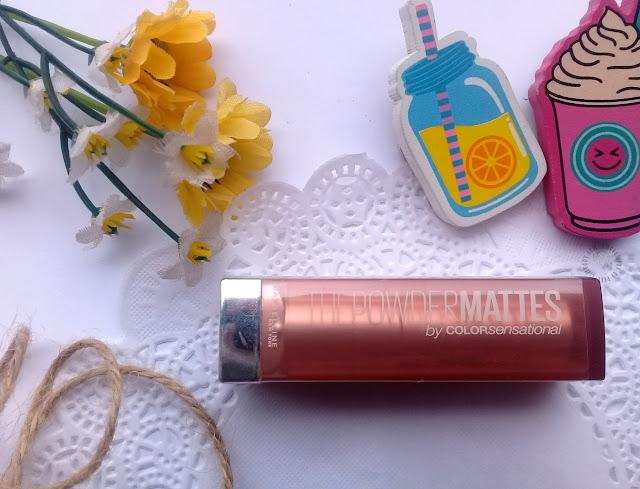 lipstick, maybelline, powder mattes, matte lipstick, pretty-moody.com