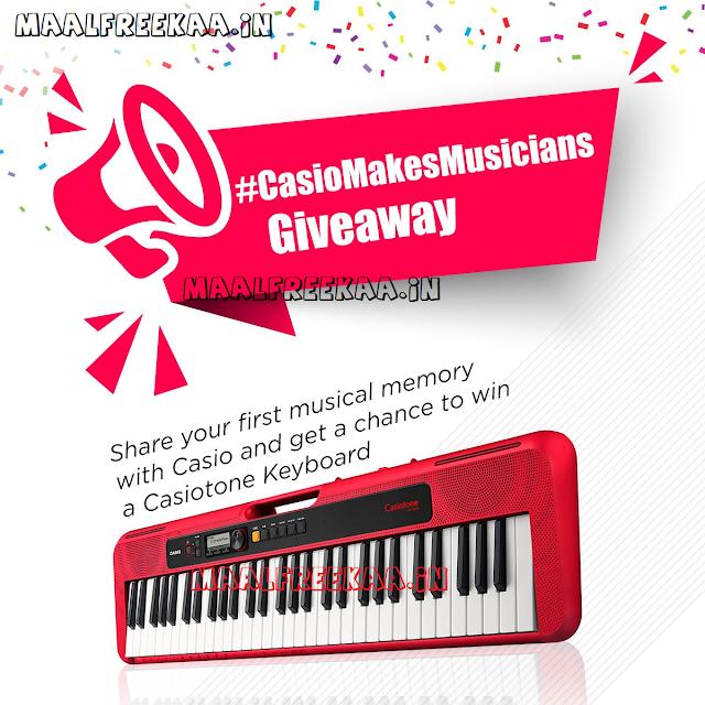 Giveaway Alert Win Free Casio Keyboard