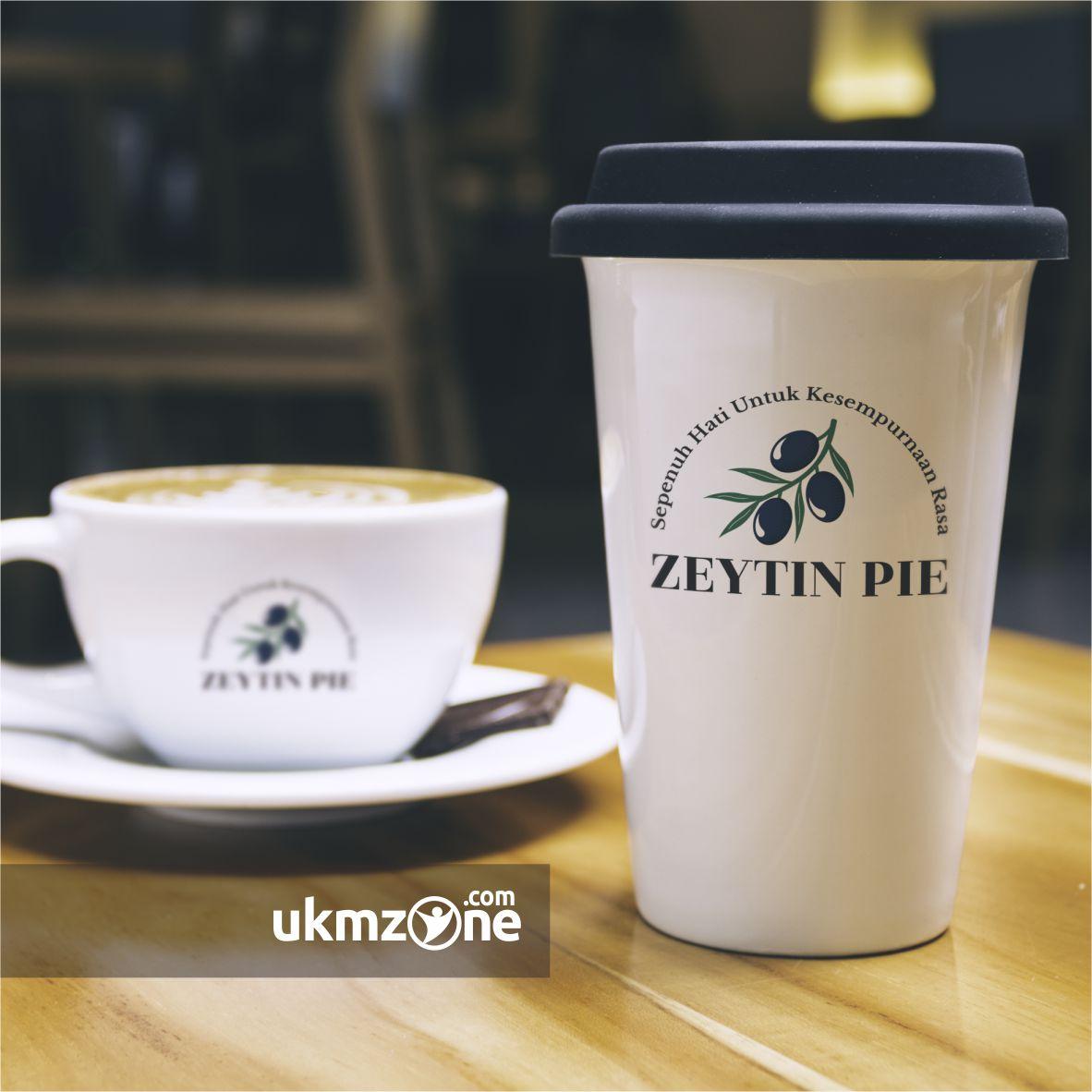 Redesain logo Zeytin desain ulang logo UKM kuliner Zeytin Pie UMKM IKM Depok - UKM ZONE