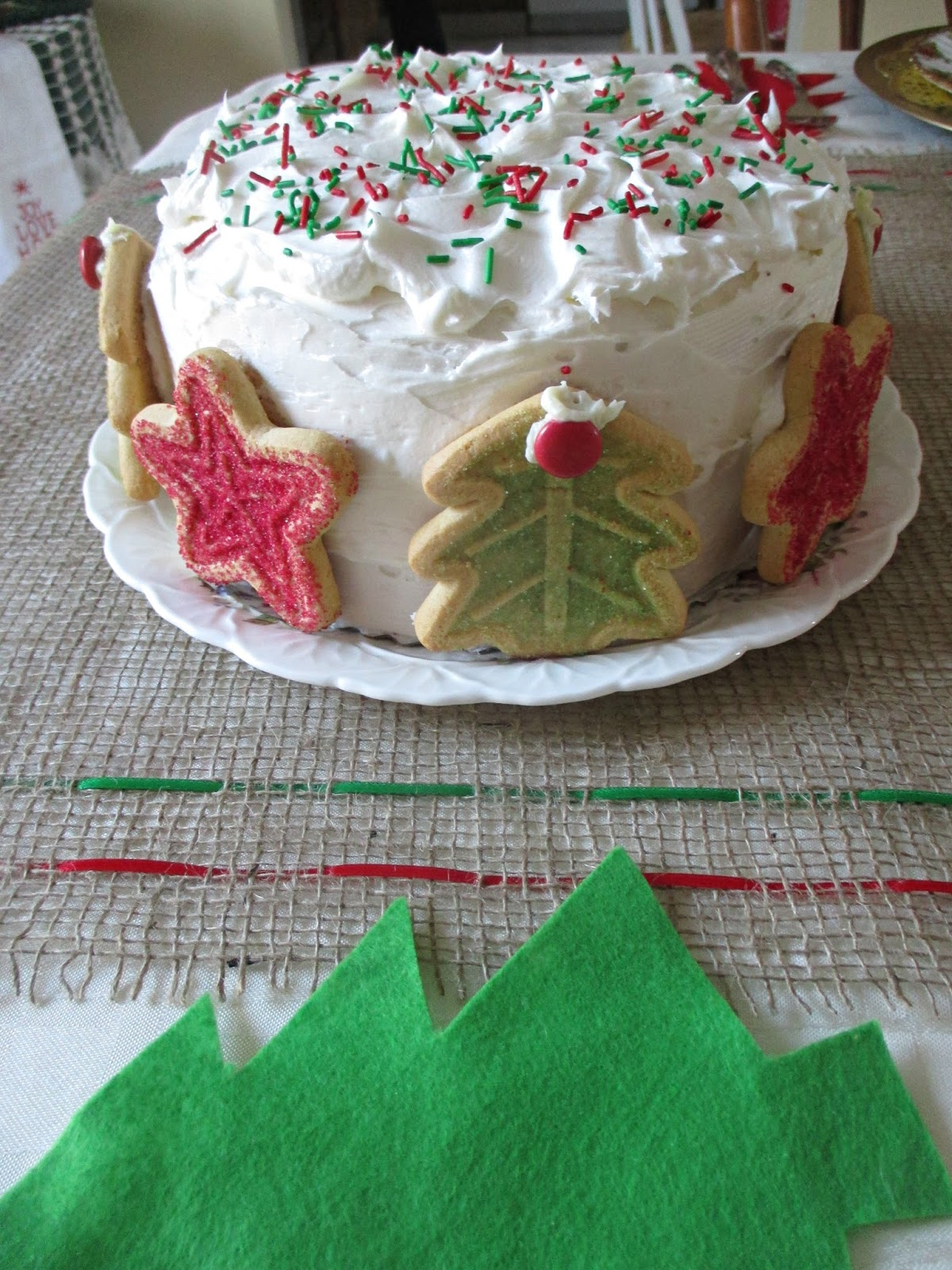 Just my Stuff: December Birthday Cake