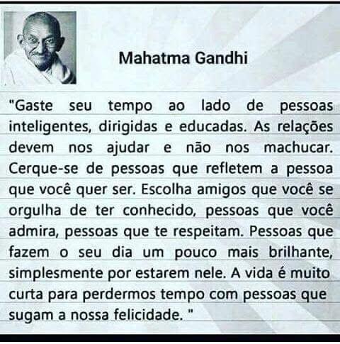 Idéias E Bobagens Mahatma Gandhi
