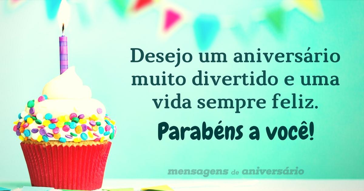 Desejo um Feliz aniversario
