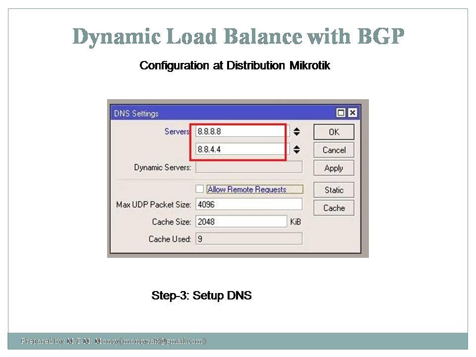 Mikrotik Load Balancing | Monty's Notebook