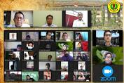Rektor Unram Lepas Ribuan Mahasiswa KKN BMKM Secara Daring