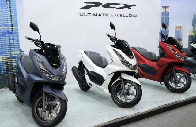 motor-matik-150cc-terbaik-termurah-2021-all-new-honda-pcx-160