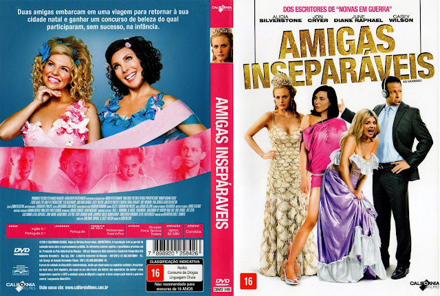 Capa DVD Amigas Inseparáveis
