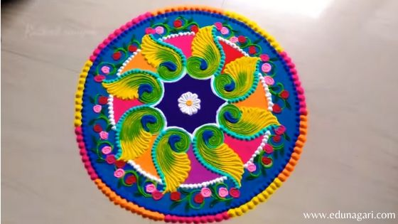 Rangoli  simple design