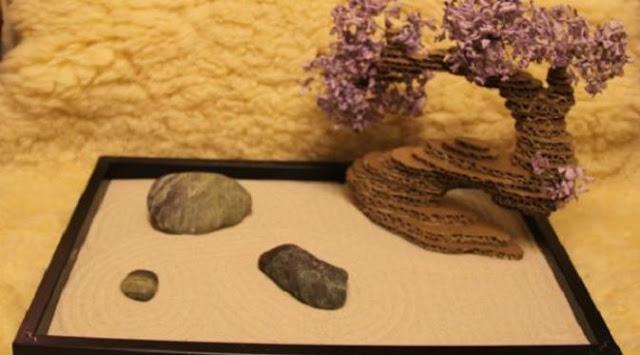 Cara Membuat Miniatur Pohon Hias Bonsai Dari Kardus Bekas