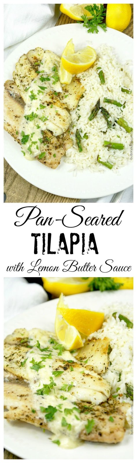 Pan Seared Tilapia With Lemon Butter Sauce Recipes Delicious