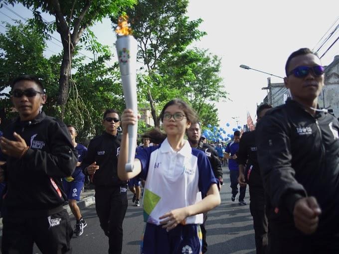 Cerita di Balik Torch Relay Asian Games 2018 di Yogyakarta