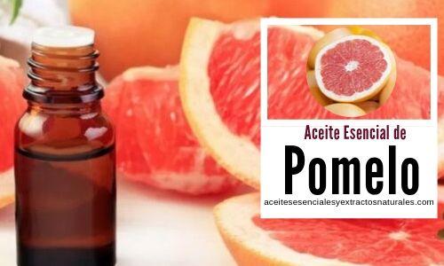 El aceiete esencial de pomelo se usa en aromaterapia para tratamientos para a depresión